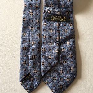 JoS. A. Bank signature gold men's silk tie